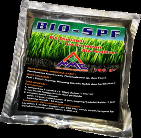 BIO SPF merupakan pupuk hayati yang dapat berfungsi sebagai : -Bio Fertilizer - Bio Stimulant - Bio Protectant