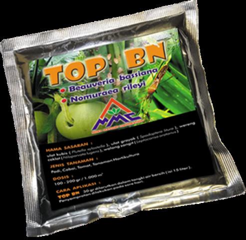 TOP BN merupakan bio pestisida ramah lingkungan untuk mengendalikan hama pada tanaman penting.