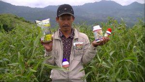 foto mitra saksi - pak iwan hanjeli wangi dengan produk mmc