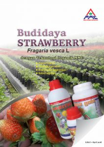 Cover - Modul Budidaya Strawbery - Edisi I 2018