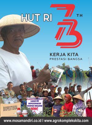 logo 73 tahun indonesia merdeka - kerja kita prestasi bangsa