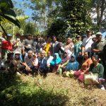 foto box kegiatan pelatihan budidaya lada desa gunung seriang 21-23 nov 2018
