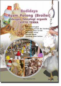 Cover Modul Budidaya Ayam Potong dengan teknologi organik VITTO TERNA
