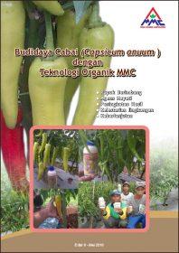 Cover Modul Budidaya Cabai dengan teknologi organik mmc